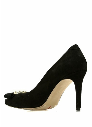 Beymen Club İnce Topuklu Deri Ayakkabı Siyah